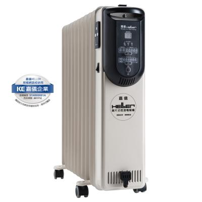 德國嘉儀HELLER電子式葉片電暖爐KED510T