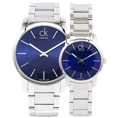 CK-都會時尚極簡對錶-K2G2114N-K2G2