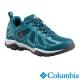 Columbia哥倫比亞 女款-防水低筒健走鞋-湖水藍 UBL17620AQ product thumbnail 1