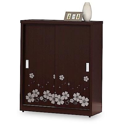 時尚屋 莉斯3.5尺拉門鞋櫃 寬105x深39x高120cm