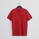 Hang Ten - 男裝 - 口袋純色POLO-紅色