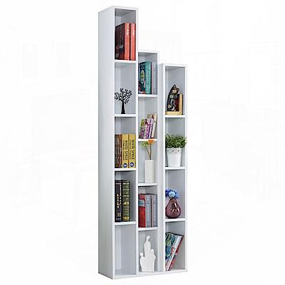 AT HOME - 漢克2尺開放書櫃-左(兩色可選) 60x30x200cm