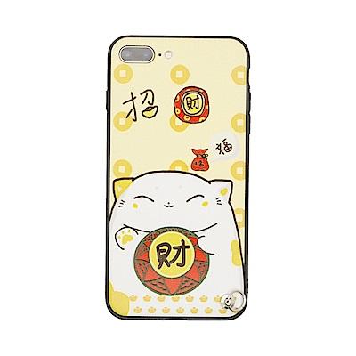 PKG IPHONE 7PLUS/8PLUS 保護套(2018開運系列-招財福貓...