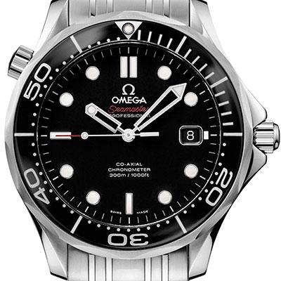 OMEGA 歐米茄  Seamaster 300米潛水機械錶-黑/41mm