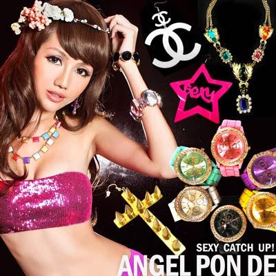 【天使波堤】任選兩款$499‧螢光手錶項鍊耳環飾品特輯
