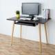 Homelike 貝莎北歐風電腦桌(附鍵盤架)-兩色可選-100x60x74.5cm