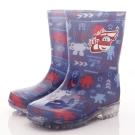 SUPER WINGS 電燈雨鞋款 SE4803藍(中小童段)T
