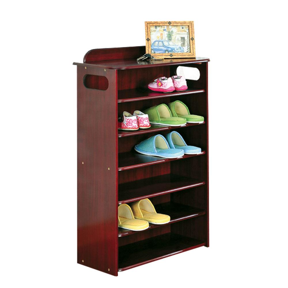 Asllie 英式古典六層收納鞋櫃