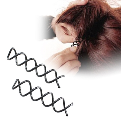 kiret神奇造型隱形螺旋髮夾10入-美髮旋轉造型