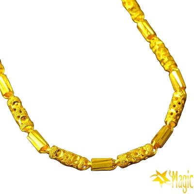 Magic魔法金-青春黃金項鍊(約6錢)