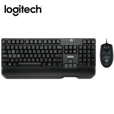 羅技-G100s遊戲電競滑鼠鍵盤組