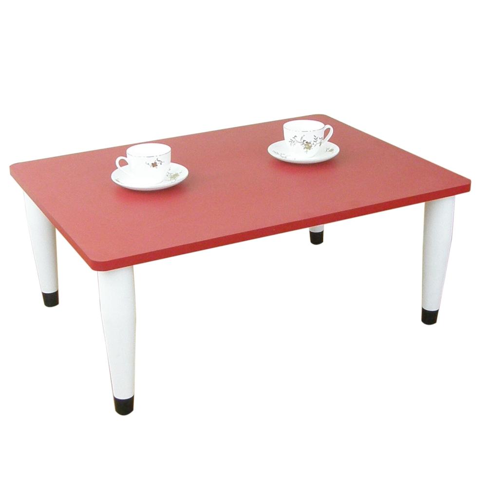 [80(寬)x60(深)]和室桌[喜氣紅色]三款腳座可選