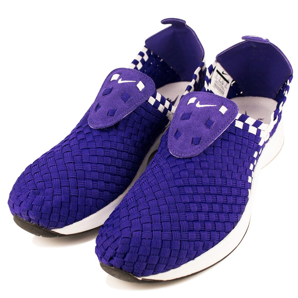 24H-NIKE-男編織鞋312422500-紫