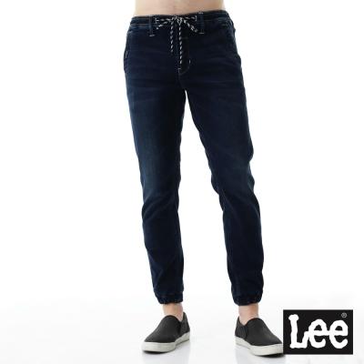 Lee 牛仔針織縮口褲- 男款-藍