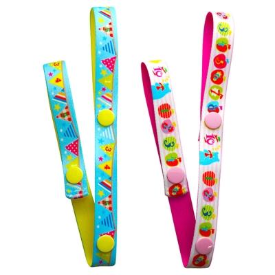 日本Akanbou-日本製玩具吊帶2入組(蘋果旗子)