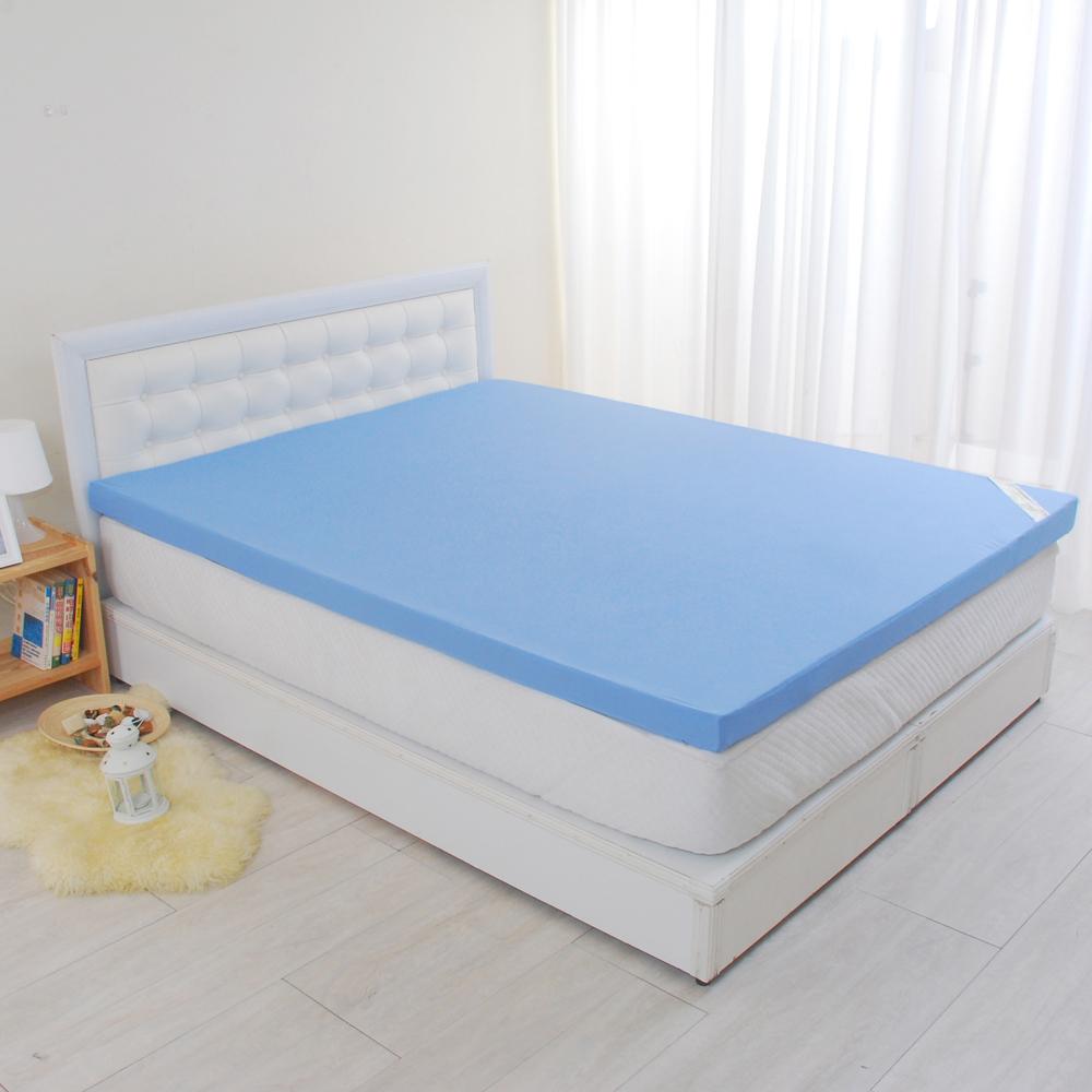 LooCa 花焰超透氣6cm記憶床枕被小資組 單大3.5尺