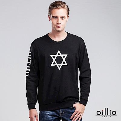 歐洲貴族-oillio-長袖T恤-星形印花-品牌文
