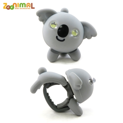 【ZOONIMAL】STORY 動物自行車燈用LED白光前燈-Koala卡洛熊/無尾熊