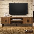 日本直人木業傢俱-工業生活150CM電視櫃(150x40x46cm)免組