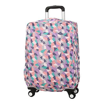 CARANY卡拉羊 加厚材質炫彩旅行箱專用箱套(粉色菱形/20吋)58-0037C-D2