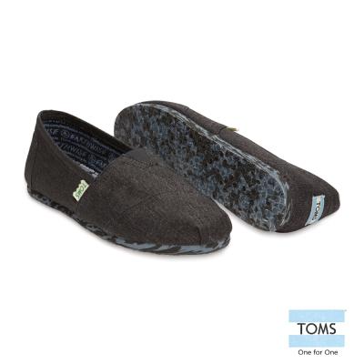 TOMS 經典環保系列懶人鞋-男款(黑)