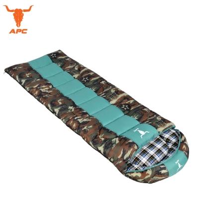 APC 迷彩秋冬加寬加厚可拼接全開式睡袋