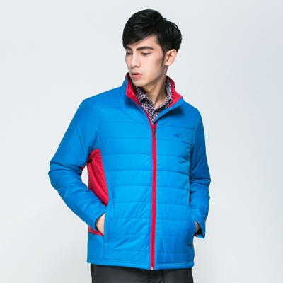 【SNOW FOX 雪狐】男款科技保溫棉外套(質輕/柔軟/保暖DC-71451藍)