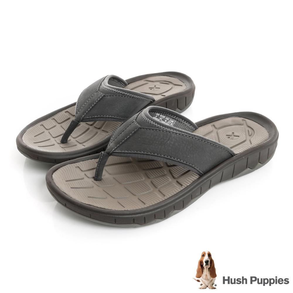 Hush Puppies BREEZE 夏日機能夾腳拖鞋-灰