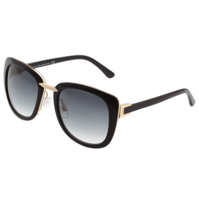 TOD'S 大方框 太陽眼鏡 (黑色)TO192D