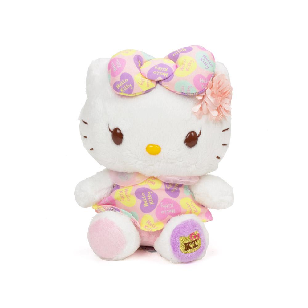 Sanrio HELLO KITTY*NICOLA聯名絨毛娃娃KITTY