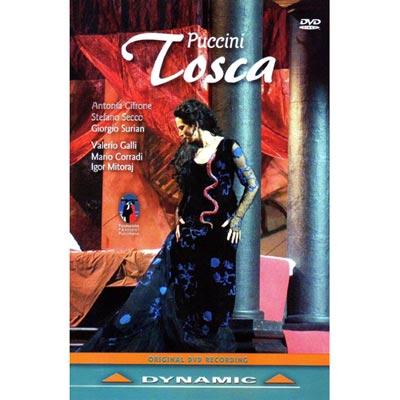 普契尼 - 歌劇《托斯卡》 DVD