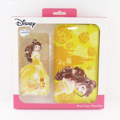 Disney迪士尼iPhone 6/6S Plus防摔氣墊空壓保護套+手機袋禮盒...