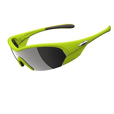 【ADHOC】運動太陽眼鏡-偏光灰片-半框式DREAMER