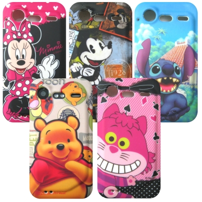 HTC Incredible S S710e DISNEY TPU 軟殼手機套