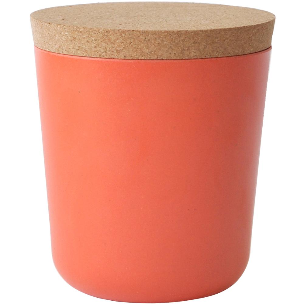 BIOBU Gusto軟木蓋儲物罐(橘L)