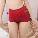 塑身褲 3S美體機能提臀束腹三角束褲 M-Q (晶棗紅)ThreeShape