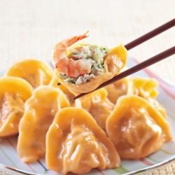 台北士東市場123水餃 鮮蝦水餃(10顆/盒)