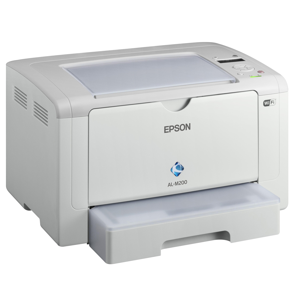 Epson雷射0元機 --M200DW複合0元機+6支碳粉