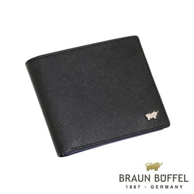 BRAUN-BUFFEL-CURIZO庫爾奇II系列12卡短夾-黑色