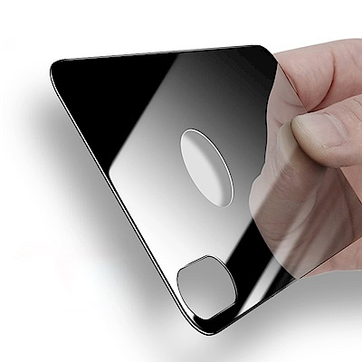 倍思 iPhone X 5.8吋鋼化玻璃膜背貼 背膜/保護貼/防爆膜