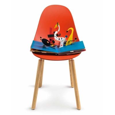 TOOU 義大利品牌 TA系列 坎帕休閒椅 橡木原木色椅腳