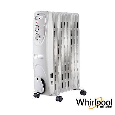 Whirlpool 惠而浦 9片葉片機械式電暖器WORM09W