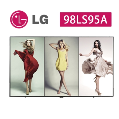 LG樂金 98吋 4K UHD超大型高階多功能廣告商用顯示器 98LS95A