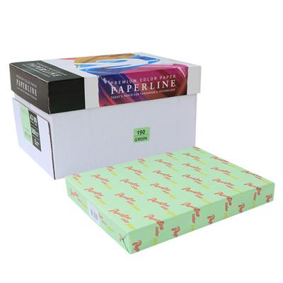 PAPERLINE 彩色影印紙 190 / 80P / A3 淺綠 (500張/包)