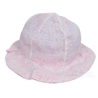 agnes b 繁花小圓帽(粉)