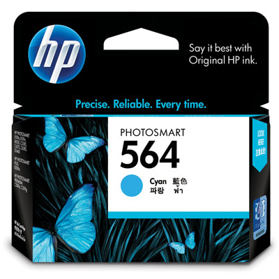 HP CB318WA NO.564 原廠藍色墨水匣