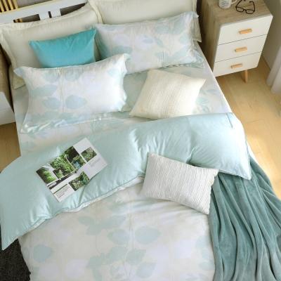 鴻宇HongYew 300織天絲-綠野仙蹤 單人床包枕套兩件組