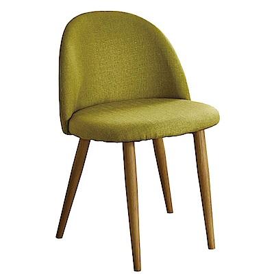 AT HOME 喬絲麻紗綠布鐵藝餐椅