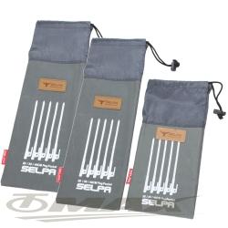 omax露營小物配件收納袋-3入(2大1小)