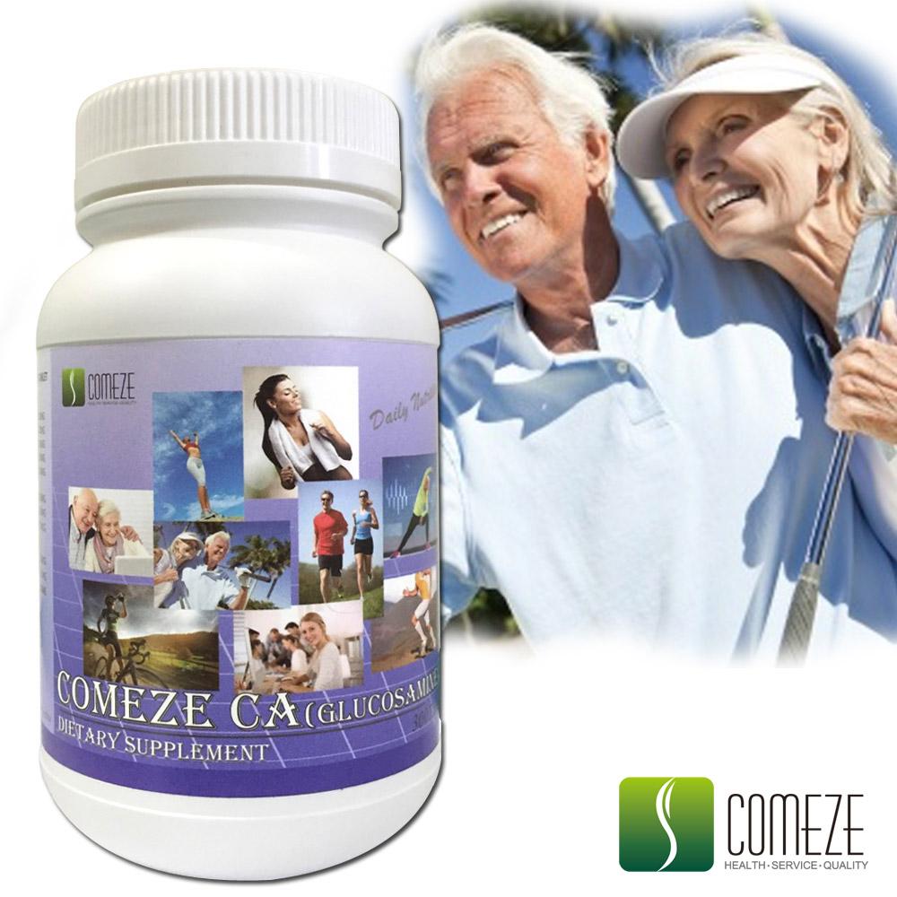 COMEZE康澤 康捷鈣 葡萄糖胺錠(300粒/瓶-量販組)
